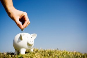 I find that placing my piggy bank in an open field and inserting only quarters, I spend less.